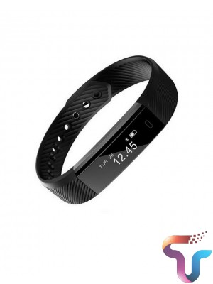 115HR  SMART WATCH WITH HEART RATE - Black