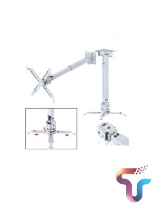 Projector Ceiling Mount Kit (Round Type) Stand 6.6feet 2m