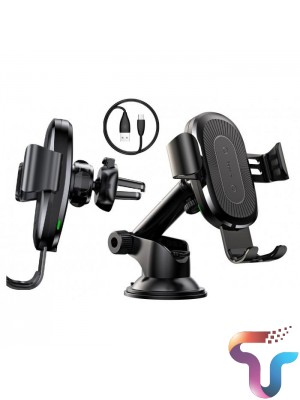 Baseus WXYL-A01 Osculum Suction Wireless Gravity Car Charger