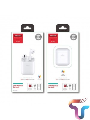 JOYROOM JR-T03S TWS Wireless Bluetooth 5.0 Touch Control POP UP Window Earbuds Airpods with Wireless Charging & Ear Detection Sensor