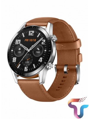 Huawei WATCH GT 2 46MM 1.39' AMOLED Full Touch Screen Wristband Bluetooth Call 14 Days Battery Life Brown