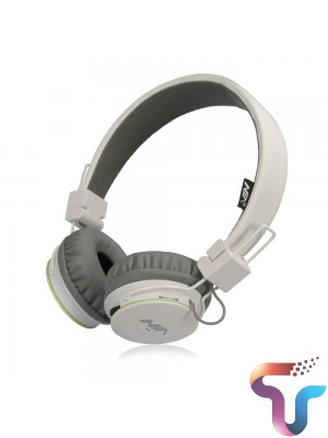 NIA XP1 Wireless Bluetooth Folding Sports Headphones With APP Support - White