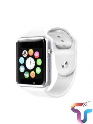 Apple Style W08 Bluetooth Smart Watch With GSM & TF Card Slot – White