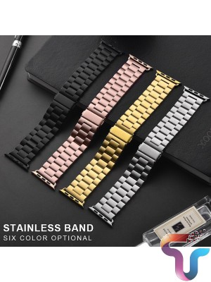 Fancy Metal Stainless Steel Sport Band Replacement Strap Adjustable Wristband Belt Mix Color