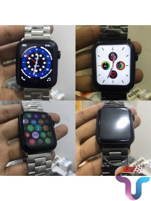 W26+ PLUS Smart Watch 44mm Scroll Button Control Series 6 with Extra Magnetic Strap