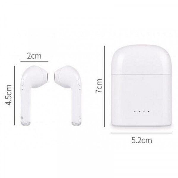 i7s TWS Mini Wireless Bluetooth Airpods Stereo Earbud Headset With Charging  Box